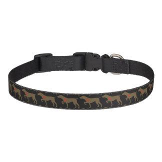 Collar Para Mascotas Cuello de perro del logotipo