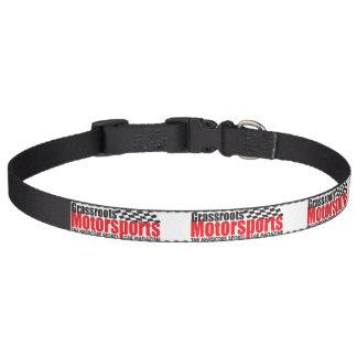 Collar Para Mascotas Cuello de perro del Motorsports de los pueblos