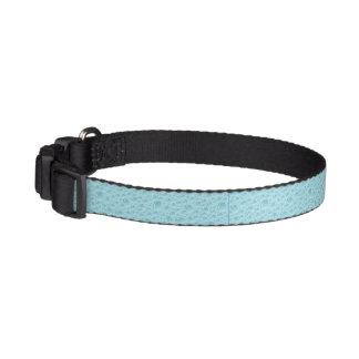 Collar Para Mascotas Cuello de perro - elegancia del azul de la burbuja