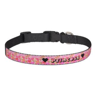 Collar Para Mascotas Cuello del gato de princesa Hearts Fur Baby Dog