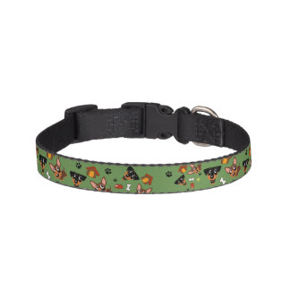 Collar Para Mascotas El Pin del minuto del Pinscher miniatura por todas