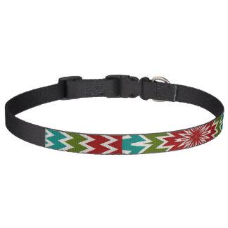 Collar Para Mascotas Flor mandalaic hipnótica