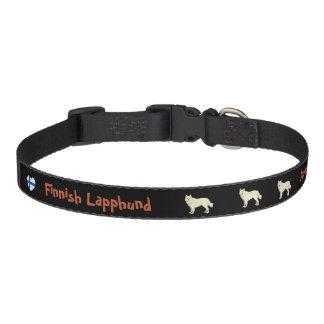 Collar Para Mascotas Lapphund finlandesas dog collar black