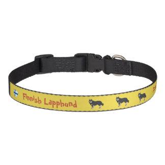 Collar Para Mascotas Lapphund finlandesas dog collar yellow