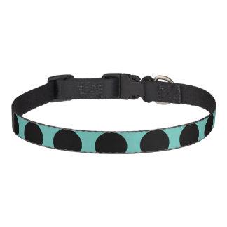 Collar Para Mascotas Lunares negros