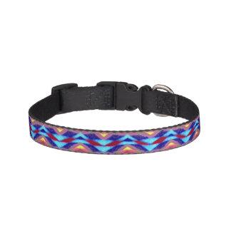 Collar Para Mascotas Modelo colorido étnico