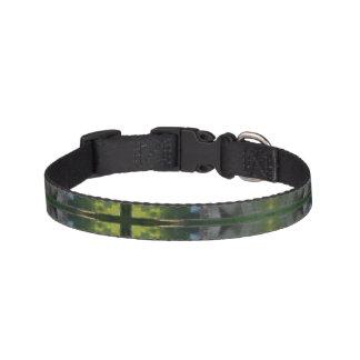 Collar Para Mascotas Pequeño cuello del mascota del arte digital verde