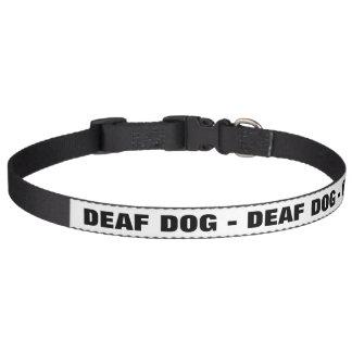 Collar Para Mascotas Perro sordo