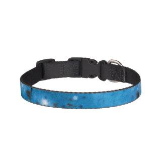 Collar Para Mascotas Splat de mármol azul marino