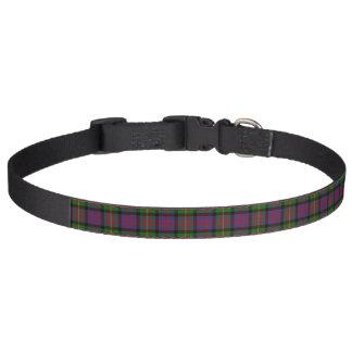 Collar Para Mascotas Tartán de Carnegie del clan
