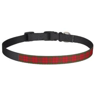Collar Para Mascotas Tartán de Drummond del clan