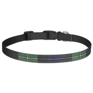 Collar Para Mascotas Tartán del escocés de la tela escocesa del clan de