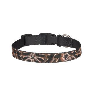 Collar Para Mascotas Tribal moderno complejo oscuro