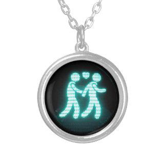 Collar peatonal gay de la señal