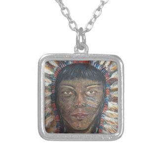 Collar pendiente: Nativo americano Siux