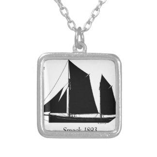 Collar Plateado 1893 tortazos navegantes - fernandes tony