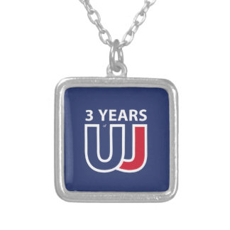 Collar Plateado 3 Years Of Union J ack