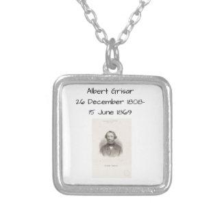 Collar Plateado Albert Grisar
