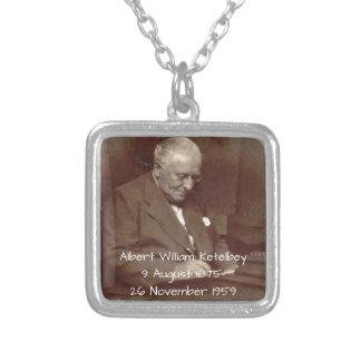 Collar Plateado Albert Guillermo Ketelbey