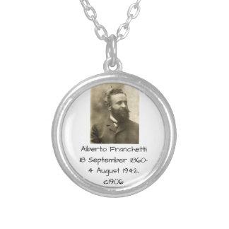 Collar Plateado Alberto Franchetti c1906