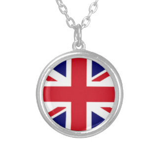 Collar Plateado Alcohol británico