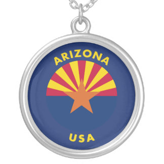 Collar Plateado Arizona los E.E.U.U.