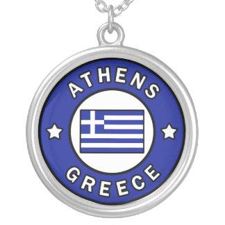 Collar Plateado Atenas Grecia