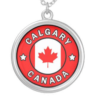 Collar Plateado Calgary Canadá