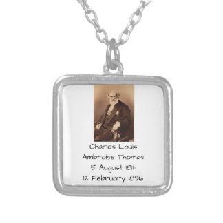 Collar Plateado Charles Louis Ambroise Thomas