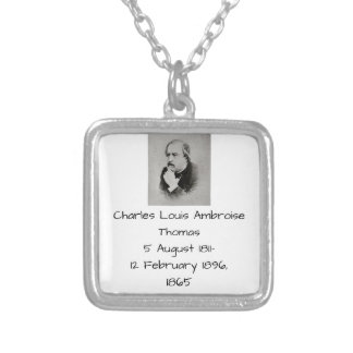 Collar Plateado Charles Louis Ambroise Thomas 1865