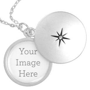 Collar Plateado Cree su propio Locket plateado plata