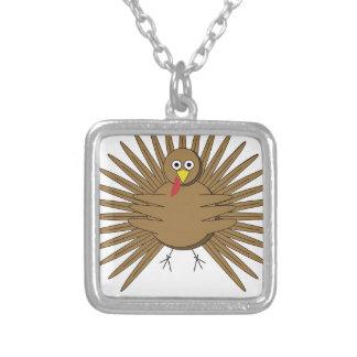 Collar Plateado Dibujo animado Turquía