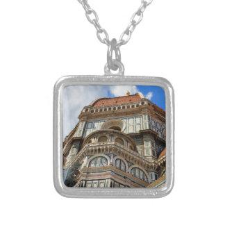 Collar Plateado Duomo, en Florencia, Toscana, Italia