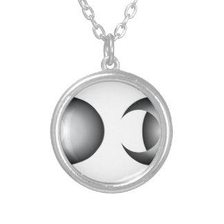 Collar Plateado eclipse lunar