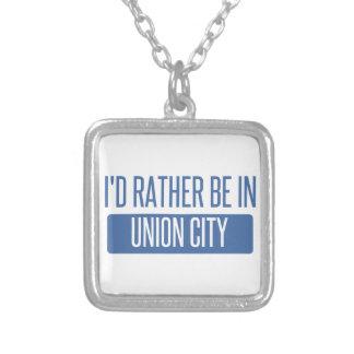 Collar Plateado Estaría bastante en la ciudad NJ de la unión