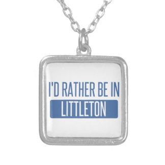 Collar Plateado Estaría bastante en Littleton