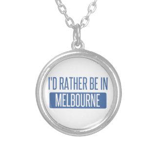 Collar Plateado Estaría bastante en Melbourne