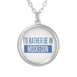 Collar Plateado Estaría bastante en Muskegon