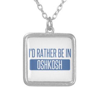 Collar Plateado Estaría bastante en Oshkosh