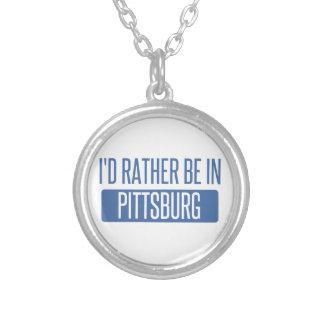 Collar Plateado Estaría bastante en Pittsburg