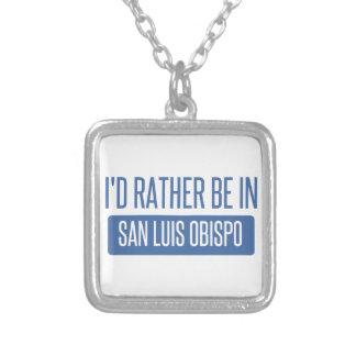 Collar Plateado Estaría bastante en San Luis Obispo
