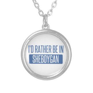 Collar Plateado Estaría bastante en Sheboygan