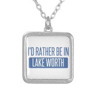 Collar Plateado Estaría bastante en valor del lago