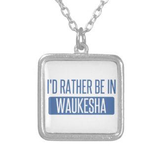 Collar Plateado Estaría bastante en Waukesha