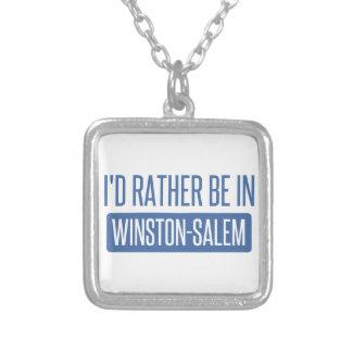 Collar Plateado Estaría bastante en Winston-Salem