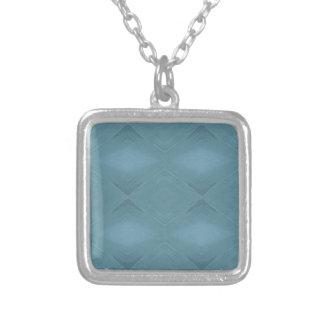 Collar Plateado Fondo adaptable azul gris claro