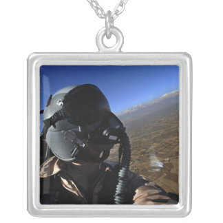 Collar Plateado Fotógrafo del combate aéreo de la fuerza aérea de