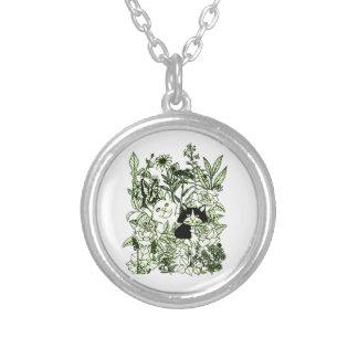 Collar Plateado Gatitos en los Wildflowers