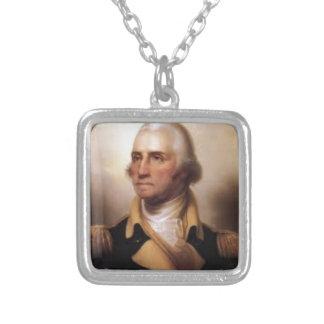 Collar Plateado George Washington