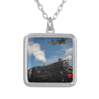 Collar Plateado Huracanes y tren del vapor